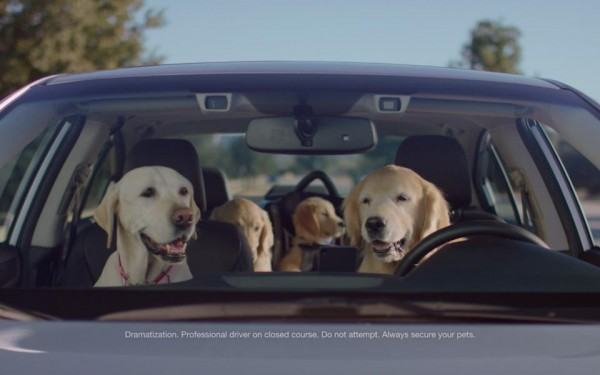 "Subaru Puppy Bowl 600x375 at Subaru Brings Back the Dogs for ""Puppy Bowl"" Ads"