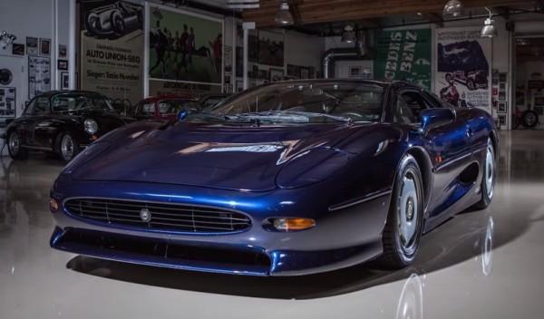 1993 Jaguar XJ220 JL 600x352 at Jay Leno Reviews a 1993 Jaguar XJ220