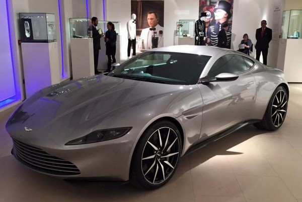 Aston Martin DB10 auction 600x401 at Aston Martin DB10 from SPECTRE Sells for £2.4M