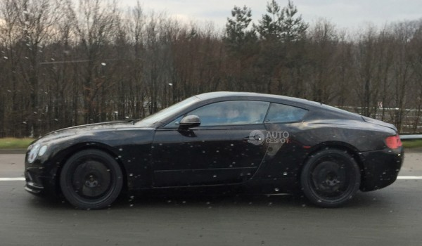 Bentley Continental GT Spy 0 600x350 at New Bentley Continental GT Spied in EXP 10 Clothes