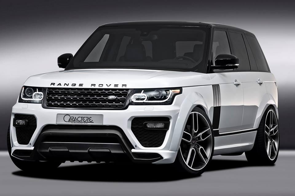 Caractere Exclusive Range Rover Debuts In Geneva