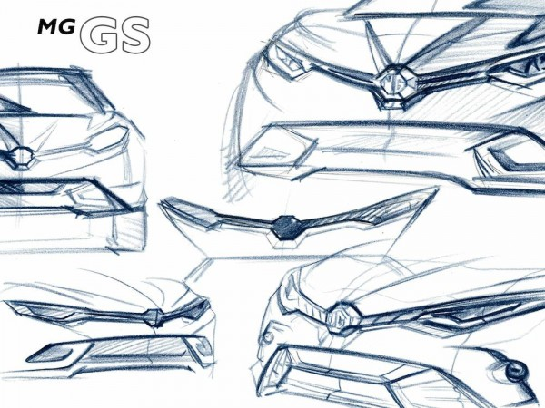 MG GS Crossover 600x450 at MG GS Crossover Officially Teased