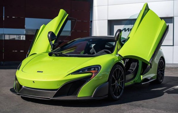 Napier Green McLaren 675LT 0 600x381 at Spotlight: Napier Green McLaren 675LT