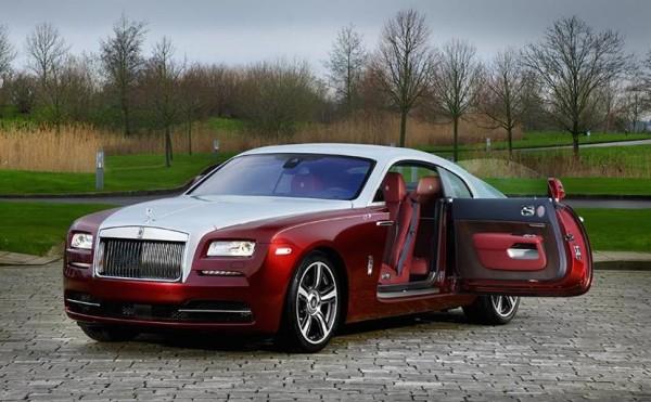 Syrah Red Rolls Royce Wraith 0 600x371 at Bespoke Syrah Red Rolls Royce Wraith Revealed