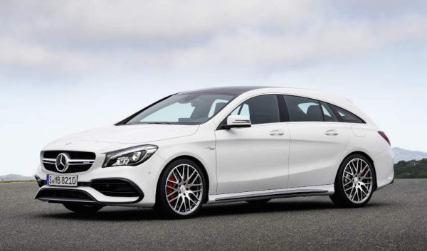 2017 Mercedes CLA Shooting Brake 0 600x353 at Gallery: 2017 Mercedes CLA Shooting Brake