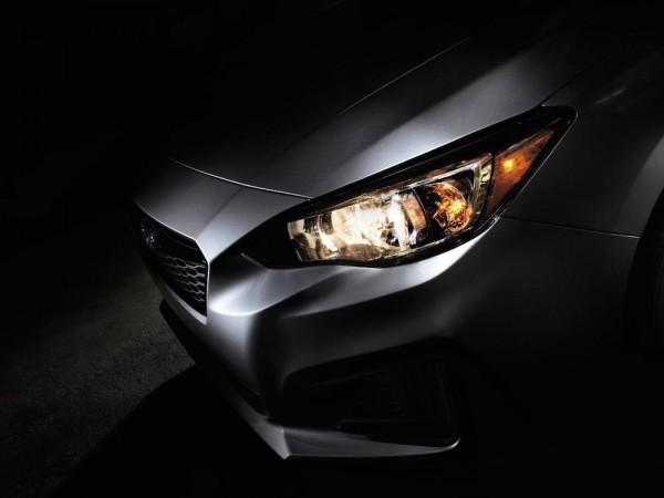 2017 Subaru Impreza Teased 600x450 at 2017 Subaru Impreza Teased for New York Auto Show