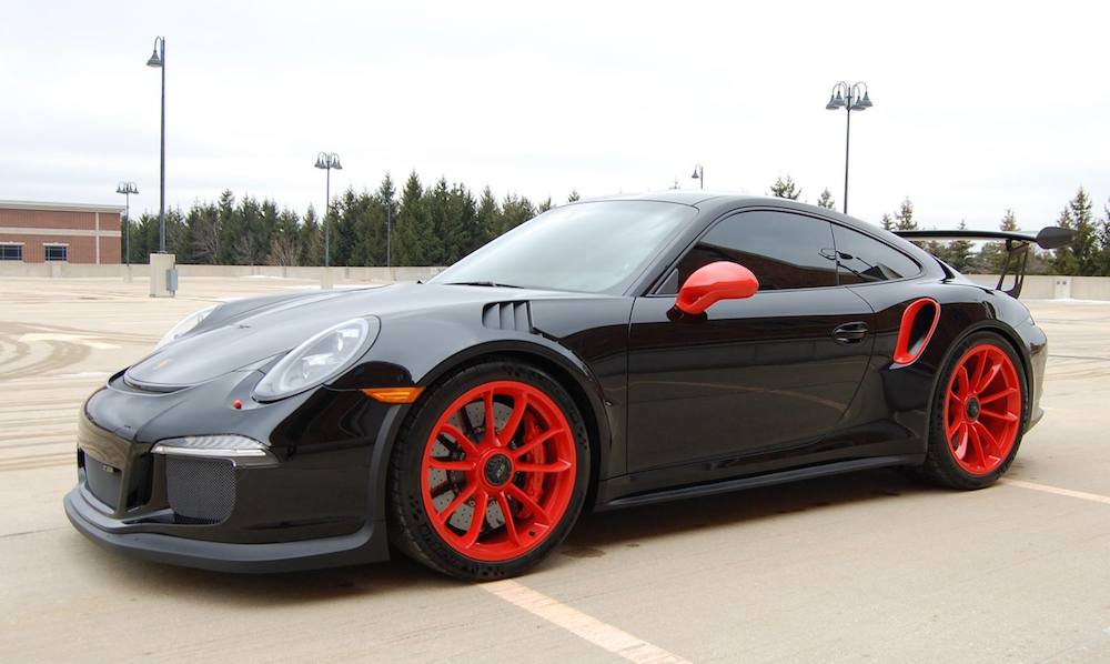 Nissan March Tuning >> Porsche 991 GT3 RS with 997 Look
