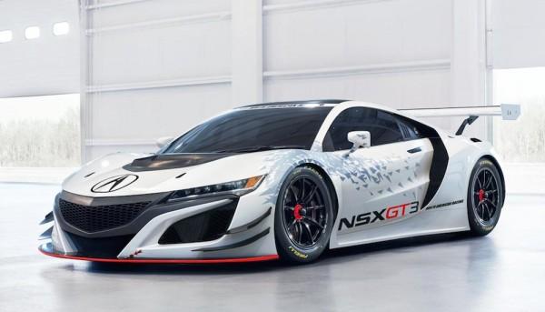 Acura NSX GT3 0 600x343 at Acura NSX GT3 Race Car Revealed