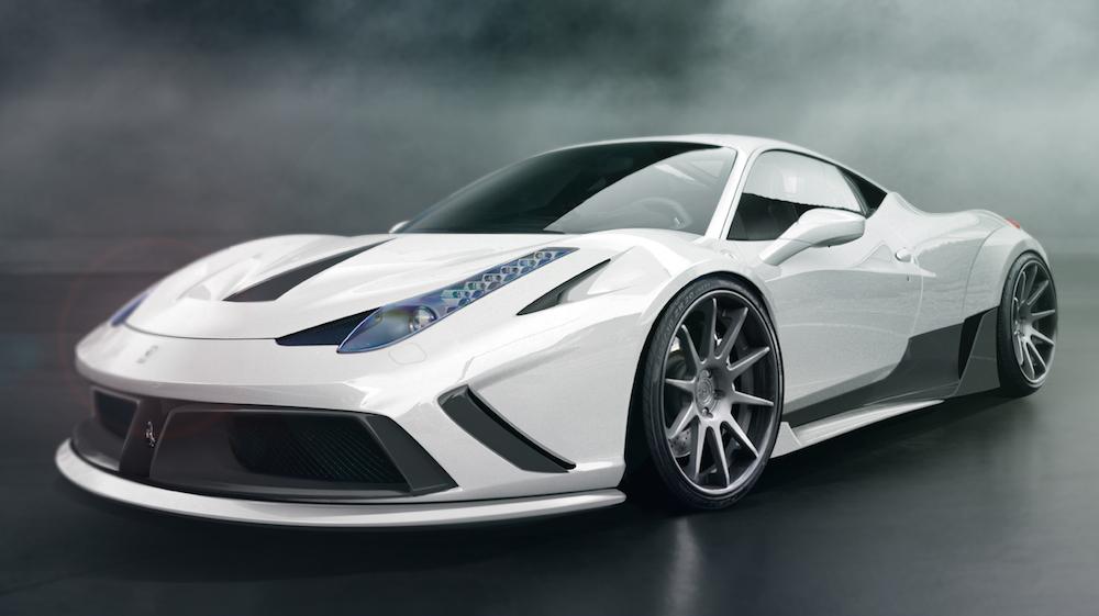 Preview Atarius Concept Ferrari 458 Wide Body