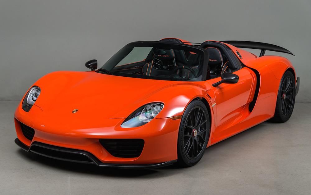 Nissan March Tuning >> Gallery: Continental Orange Porsche 918 Weissach