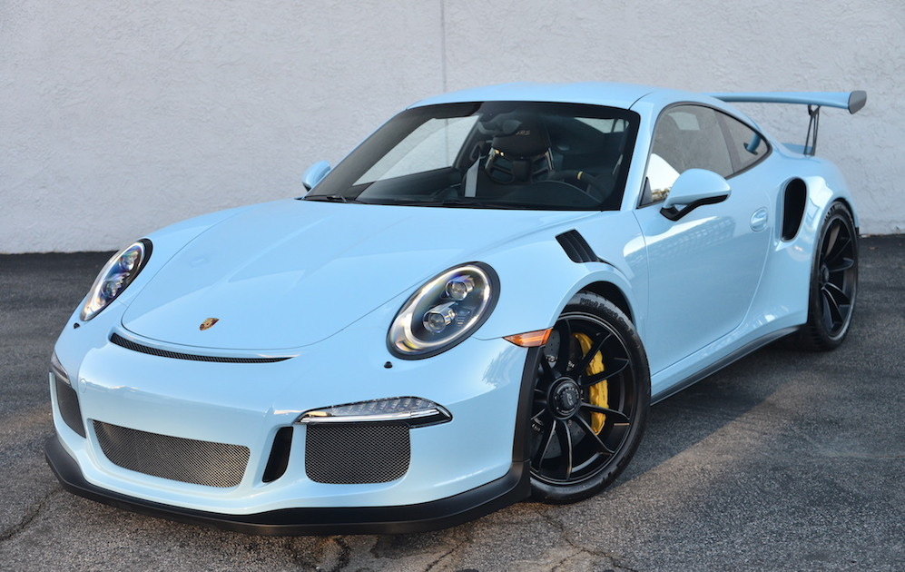 Nissan March Tuning >> Gulf Blue Porsche 991 GT3 RS on Sale for $400K