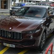 Maserati Levante Spot 1 175x175 at Maserati Levante Spotted on the Streets of Geneva