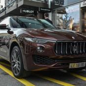Maserati Levante Spot 3 175x175 at Maserati Levante Spotted on the Streets of Geneva