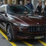 Maserati Levante Spot 4 175x175 at Maserati Levante Spotted on the Streets of Geneva