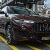 Maserati Levante Spot 6 175x175 at Maserati Levante Spotted on the Streets of Geneva