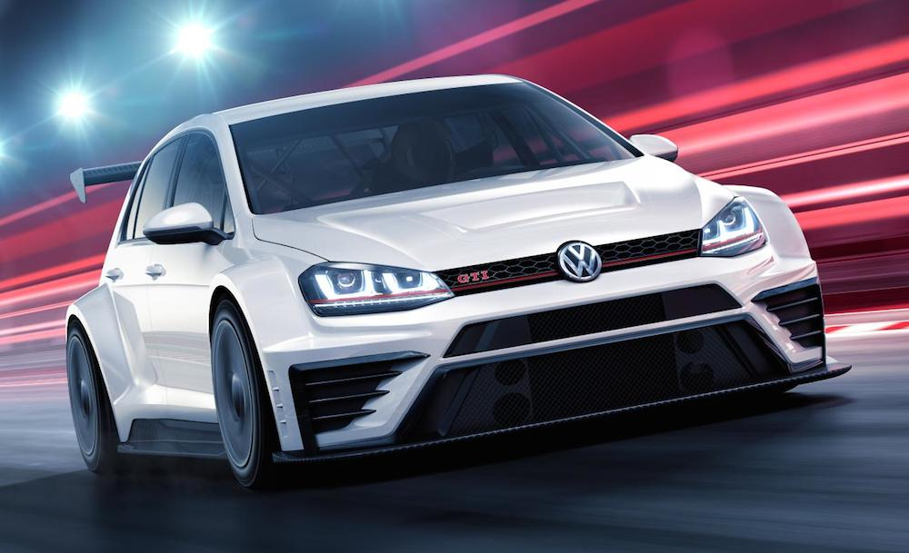 Vw Golf Gti Tcr Race Car Announced