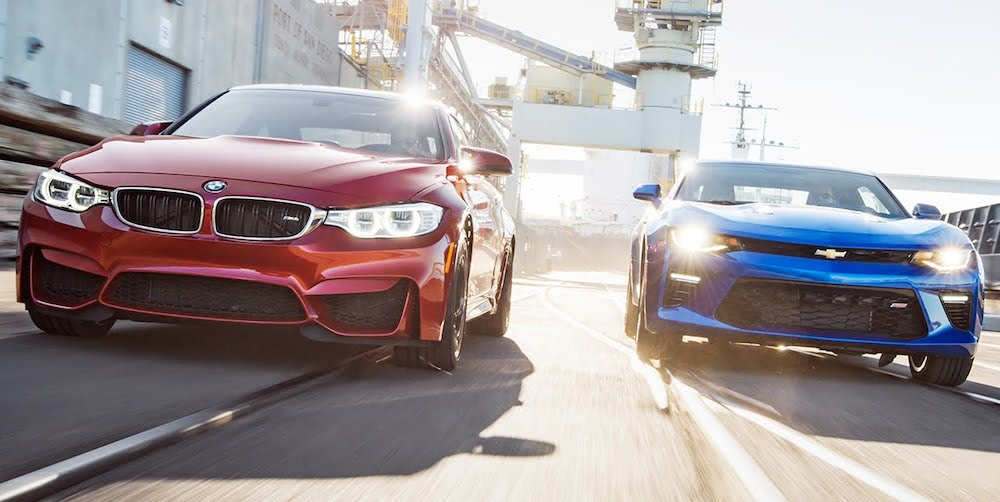 2016 Camaro Ss Takes On Bmw M4 Head 2 Head
