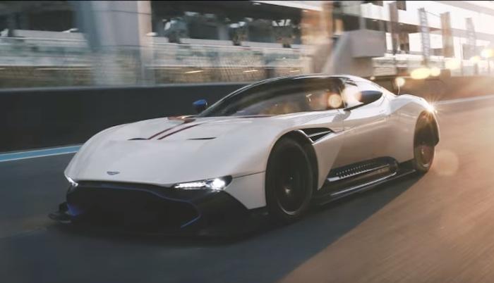 Aston Martin Vulcan In Action At Yas Marina