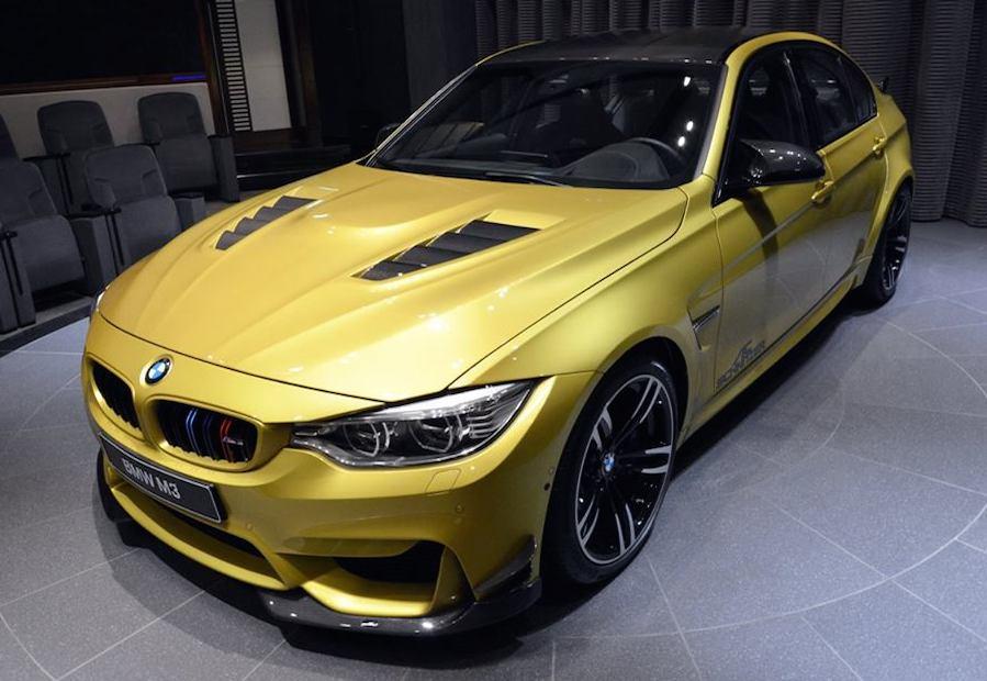 Subaru Aftermarket Parts >> Gallery: Austin Yellow BMW M3 Goes Custom