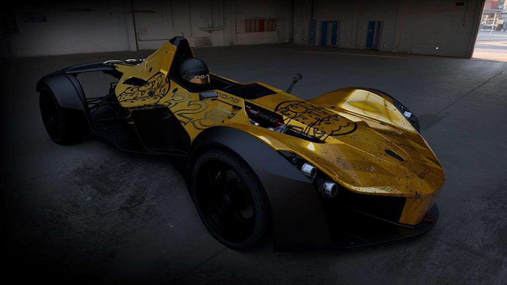 Gold-Wrapped BAC Mono to Star in Gumball 3000