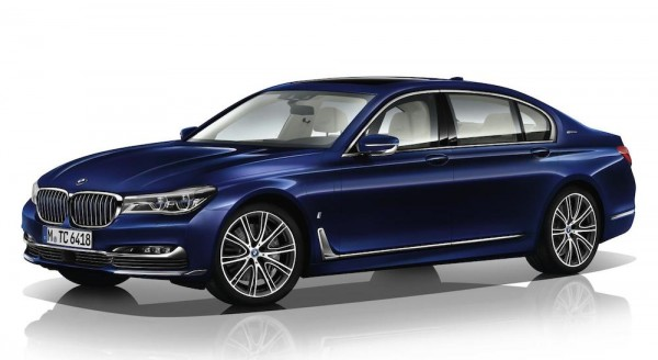 """BMW 7 Series Individual 100 Years 0 600x328 at Official: BMW 7 Series Individual """"100 Years"""""""