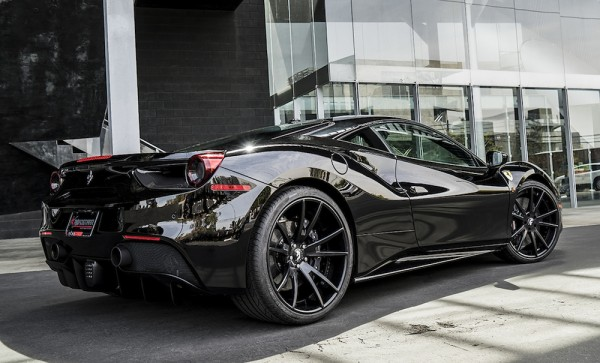 Black on Black Ferrari 488 0 600x363 at Black on Black Ferrari 488 by Forgiato