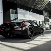 Black on Black Ferrari 488 1 175x175 at Black on Black Ferrari 488 by Forgiato