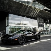 Black on Black Ferrari 488 6 175x175 at Black on Black Ferrari 488 by Forgiato