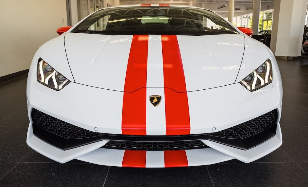 Lamborghini Huracan With Aesthetic Package Spotted For Sale