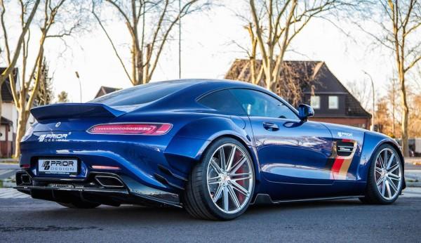 Prior Design AMG GT Vossen 0 600x346 at Prior Design Mercedes AMG GT on Vossen Wheels