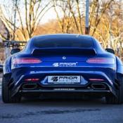 Prior Design AMG GT Vossen 1 175x175 at Prior Design Mercedes AMG GT on Vossen Wheels