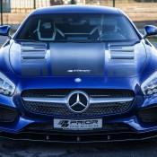 Prior Design AMG GT Vossen 7 175x175 at Prior Design Mercedes AMG GT on Vossen Wheels