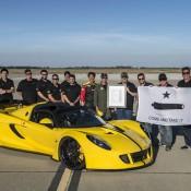 Venom GT Spyder record 3 175x175 at Hennessey Venom GT Spyder Clocks 265.6 mph