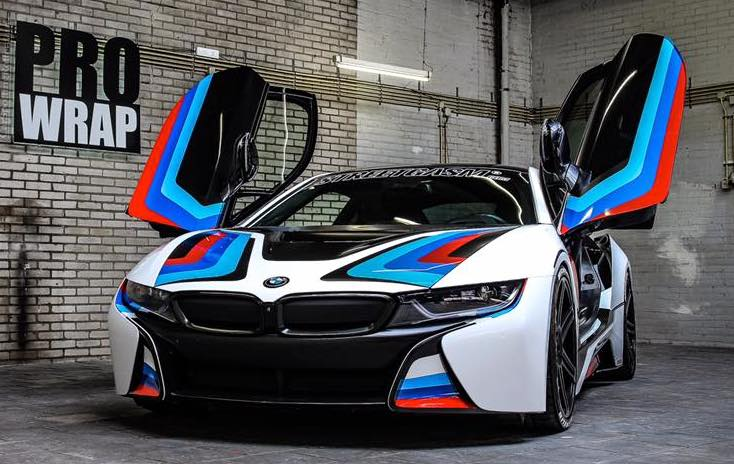 Manhart Bmw I8 Mhi8 In M Racing Colors