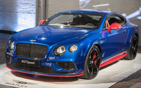 2017 Bentley GT Speed 0 600x375 at Bentley GT Speed Series Launched in New York