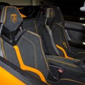 Arancio Ishtar Aventador SV 13 175x175 at Arancio Ishtar Lamborghini Aventador SV Roadster Listed for $800K!