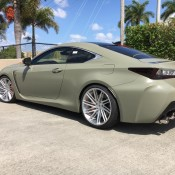 Army Green RC F 1 175x175 at Army Green RC F Is Our Kind of Lexus