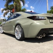 Army Green RC F 2 175x175 at Army Green RC F Is Our Kind of Lexus