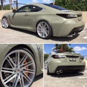 Army Green RC F 6 175x175 at Army Green RC F Is Our Kind of Lexus