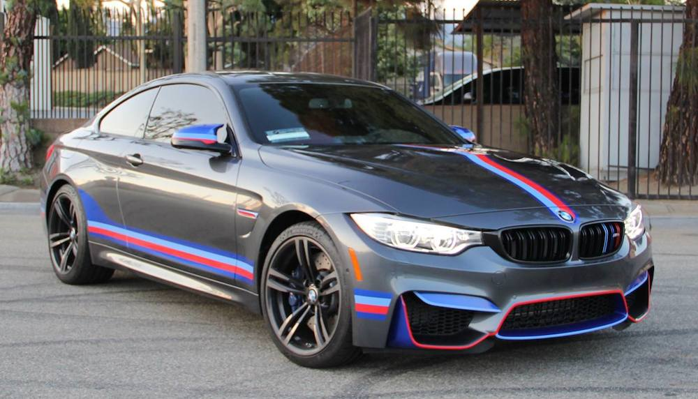 Bmw M4 With M Stripes Is For Bimmer Devotees