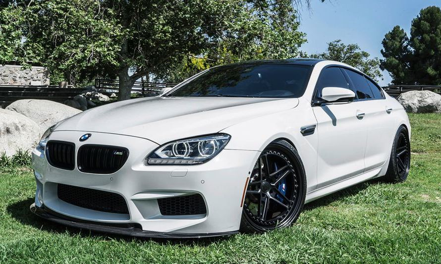 Bmw M6 Gran Coupe Looks Extra Cool On Forgiato Rims