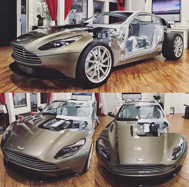 Aston Martin Valkyrie Rear: Flayed Aston Martin DB11 Shows Inner Aluminium Goodness