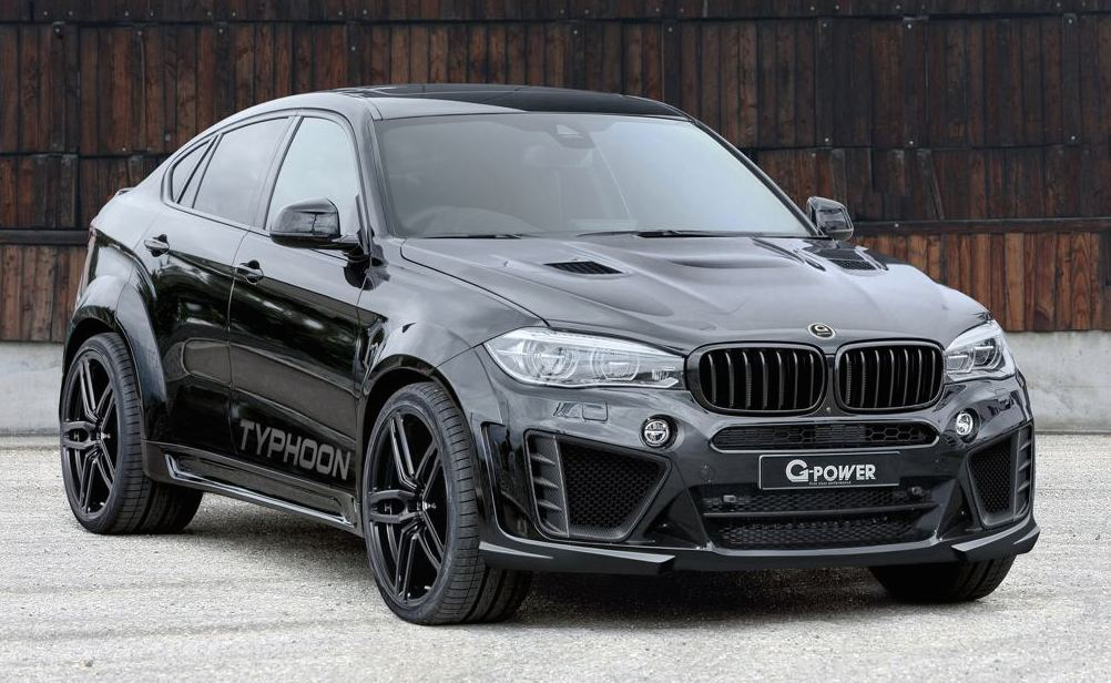 latest g power bmw x6m typhoon packs 750 hp. Black Bedroom Furniture Sets. Home Design Ideas