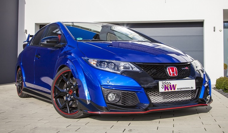 tailored kw suspension for honda civic type r. Black Bedroom Furniture Sets. Home Design Ideas