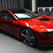 Lava Red BMW i8 1 175x175 at One Off Lava Red BMW i8 from Abu Dhabi