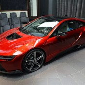 Lava Red BMW i8 10 175x175 at One Off Lava Red BMW i8 from Abu Dhabi