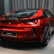 Lava Red BMW i8 12 175x175 at One Off Lava Red BMW i8 from Abu Dhabi