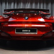 Lava Red BMW i8 14 175x175 at One Off Lava Red BMW i8 from Abu Dhabi