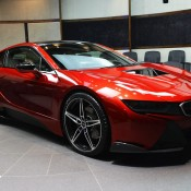 Lava Red BMW i8 19 175x175 at One Off Lava Red BMW i8 from Abu Dhabi