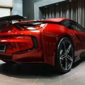 Lava Red BMW i8 20 175x175 at One Off Lava Red BMW i8 from Abu Dhabi